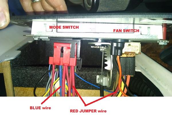Ac Switch Controls Ac Compressor Regardless Of Mode Switch